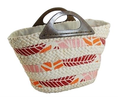 tropical bulk beach handbag los angeles wholesale