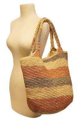 beach bag wholesale straw