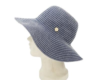 wholesale packable sun hats hawaii flower