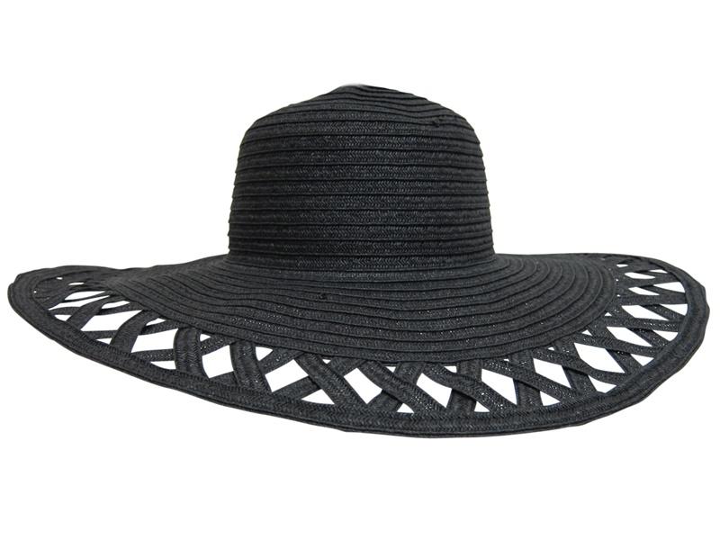Bulk Wholesale Hat Supplier Wide Brim w:Cut Outs- Dynamic Asia