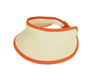 Child's Straw Sun Visor Summer Wholesale