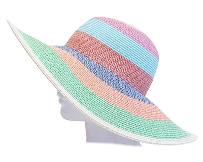Colorblock Sun Hat Women Wholesale