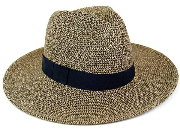Dynamic Asia Wholesale Summer Straw Hat Supplier Neutral Paper Braid Safari Hat w/ Black Band