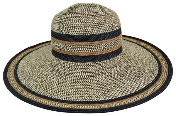 Earthtone Wide Brim Wholesale Hat-Dynamic Asia