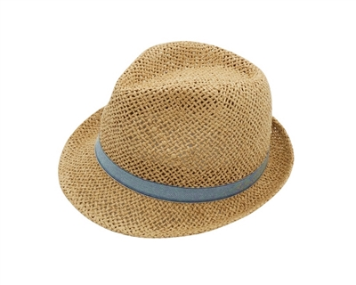wholesale straw hats for Kids Fedora Hat