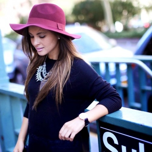 Melanee - wool felt hats wholesale