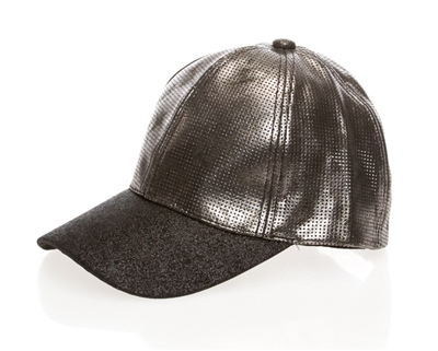 Metallic Womens Fashion Cap Wholesale