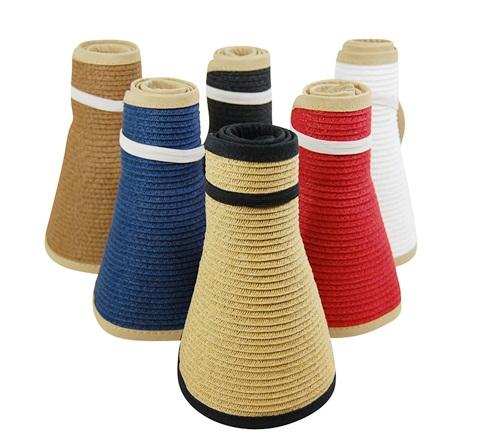 Roll Up Sun Hats Sun Visors-Dynamic Asia