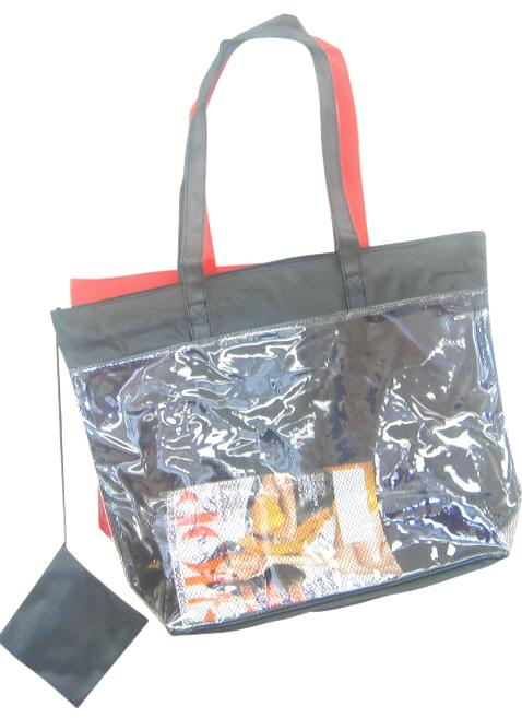 See Through Clear Plastic Beach Bag Wholesale-Dynamic Asia