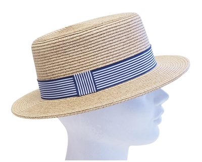 Straw Boater Hat Wholesale