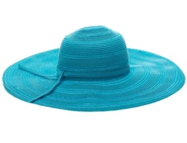 Cheap Wholesale Hats Online · TURQUOISE straw wide brim hat distributors ee05ec1ccde7d