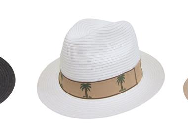Tropical Panama Hat Fedora Wide Brim Wholesale Hats-Dynamic Asia
