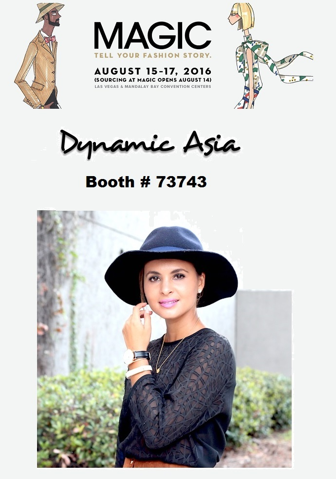 WWDMagic 2016 August - Las Vegas Fashion Trade Show - Dynamic Asia-Booth