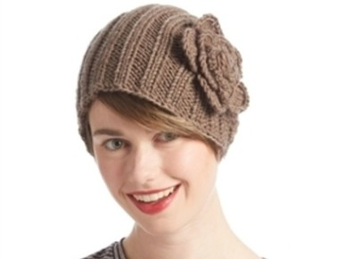 wholesale oversize knit headwrap with flower