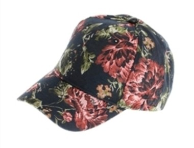 rose embroidered caps wholesale