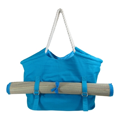 Wholesale Canvas Beach Bag with Mat