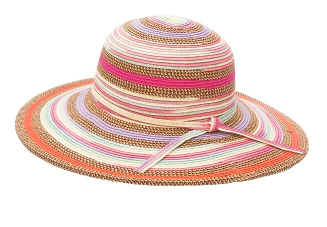 Wholesale Colorful Mixed Braid Straw Sunhat Summer 2015-Dynamic Asia