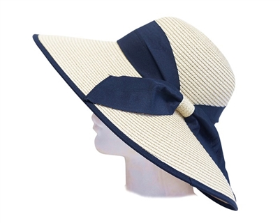 Wholesale Derby Hats-Dynamic Asia big Derby Hats with Bow Detail