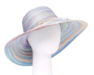 Wholesale Derby Hats Space Dyed Pastel Hat for Kentucky Derby-Dynamic Asia