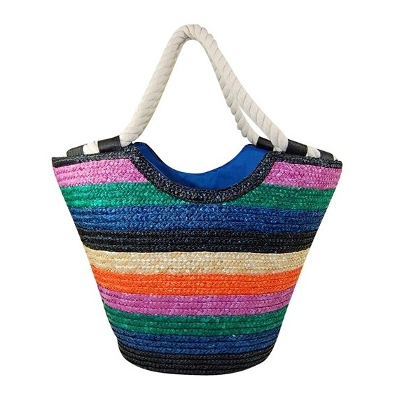 Wholesale designer straw handbags for the beach for Designer beach bags and totes