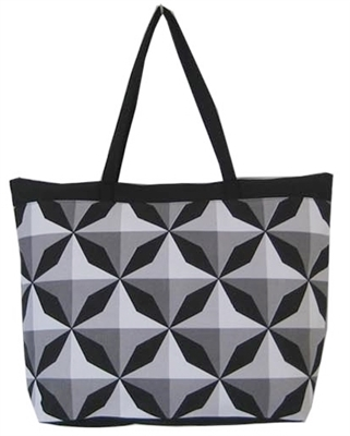 Wholesale Geometric Canvas Tote