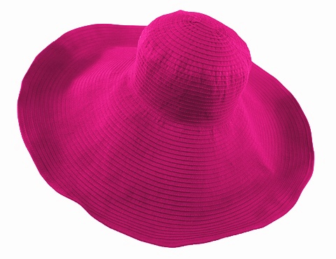 Wholesale Ovesized Bright Ribbon Sun Hat- Dynamic Asia