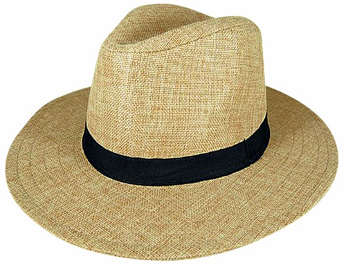 Wholesale Sun Protection Hats For Women Natural Straw Linen Safari Hat- Dynamic Asia