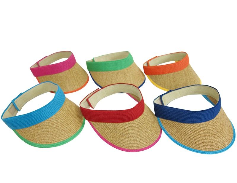 Wholesale Sun Visors Straw Hats Summer 2014-Dynamic Asia 0a0a28fffd1