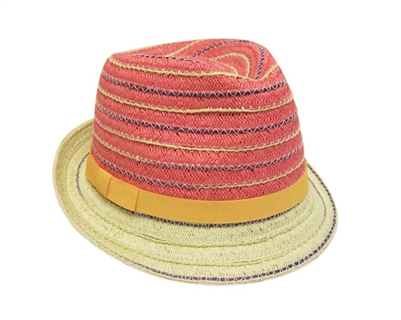 fb20b5e22d5 Summer Straw Fedora Hats Wholesale