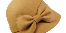 Wool Felt Cloche With Bow Winter Wholesale Hats-Dynamic Asia