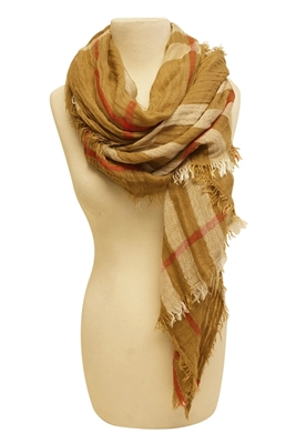 buy wholesale winter scarves plaid