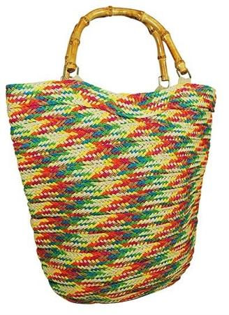 colorful wholesale beach bag