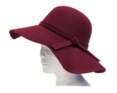 faux wool felt hats wholesale ladies winter fashion hats