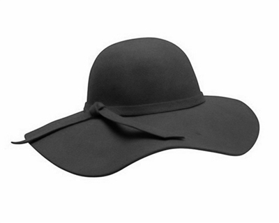 floppy-hats-wholesale-black