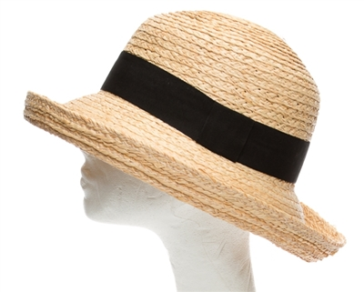 organic raffia straw hats wholesale