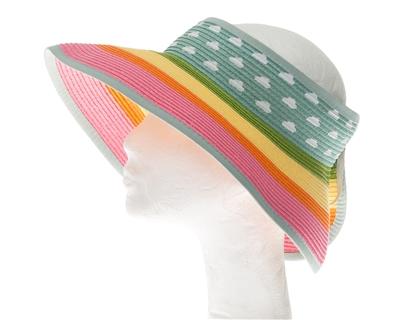 rainbow clouds straw sun visor hats wholesale b4551029415