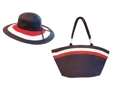 straw bags and floppy beach hats wholesale