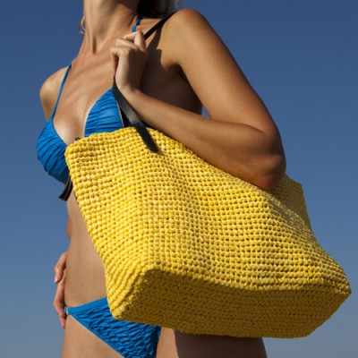 straw beach bags - wholesale - los angeles