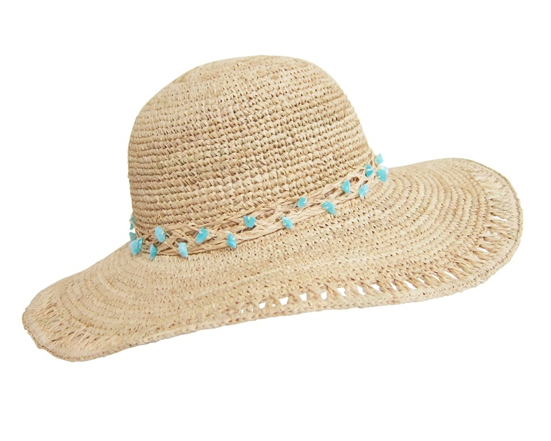 straw beach hats wholesale