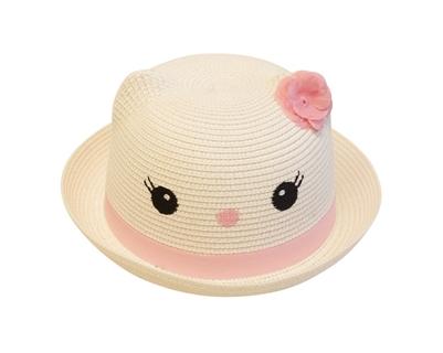 straw kitty hats