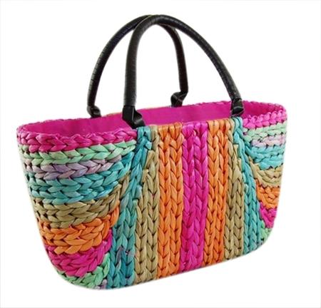 straw wholesale beach bag