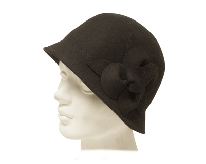 wholesale-cloches-hats-black