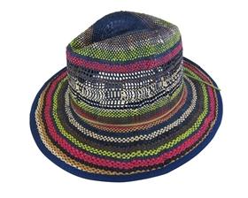 wholesale colorful straw panama hat