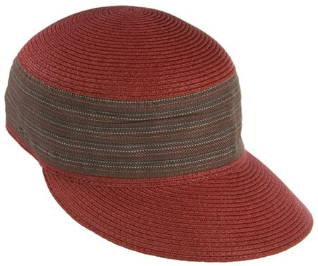 wholesale-fashion-cap-maroon-red