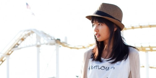 wholesale fedora hats - kat chang fashion blogger los angeles