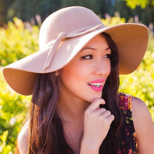 wholesale felt floppy hats wool summer  winter womens