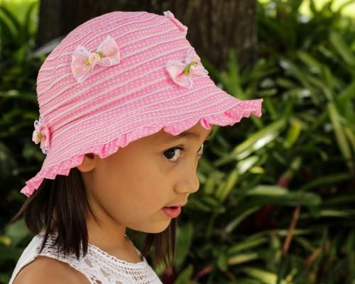 wholesale girls hats kids bucket hat