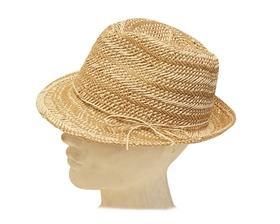 wholesale hand woven straw fedora dad hat