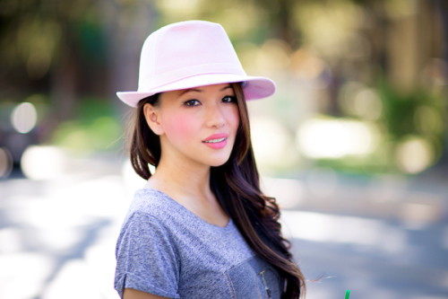 wholesale hats spring 2015 - dynamic asia fedora - photo alina dinh