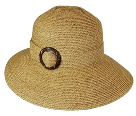 wholesale lampshade hat coconut buckle